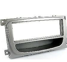Ct24Fd26 Ford Focus 2007 Onwards Silver Single Din Fascia Adapter Panel