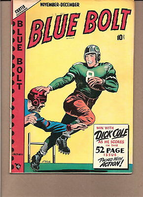 Blue Bolt V 9 #6 1948  L B Cole/cover  52 Pg  Fn/vg