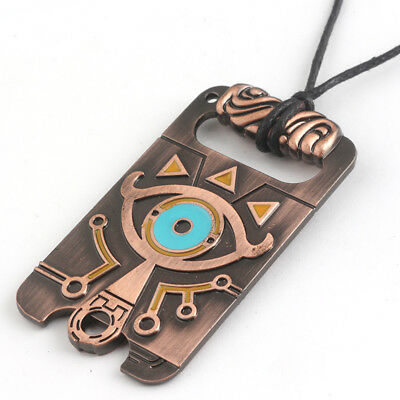 The Legend of Zelda: Breath of the Wild Sheikah Eye Pendant Necklace NEW USA!