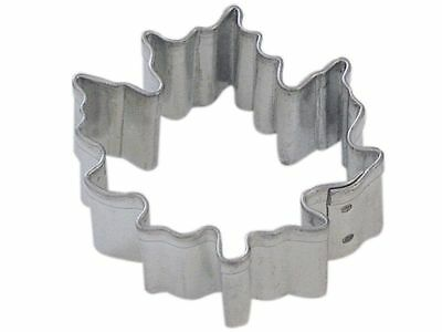 Mini Maple Leaf Cookie Cutter 1.75'' NEW! (Lot of 10)