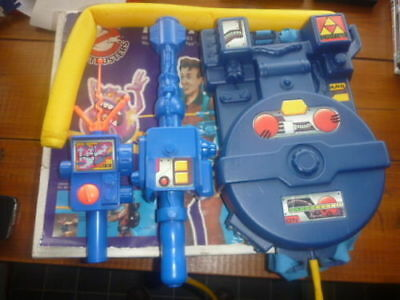 The original 1980's Kenner Ghostbusters Proton Pack and PKE meter RARE TATTY BOX