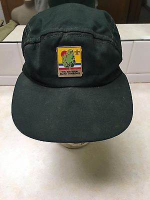 1973 Boy Scout National Jamboree Hat - Size 6 7/8 - 7