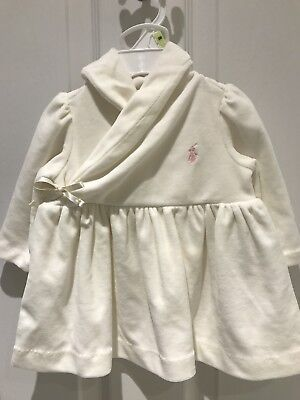 Ralph Lauren Baby Dress Bloomers White 3 Months Nightdress Brand New With Tag