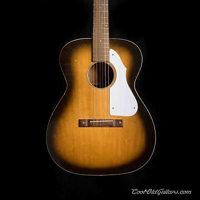 VINTAGE 1965 HARMONY Silvertone Acoustic Guitar with
