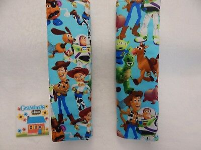Seat Belt Cover For Standard Seat Belt - SET OF TWO Toy Story Buzz Woody Jess