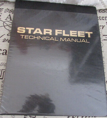 Star Trek Star Fleet Technical Manual - First Edition 1975 - Franz Joseph