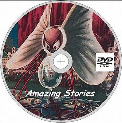 Amazing Stories Magazine 390 Issues+ 21 Quarterly on DVD Rom
