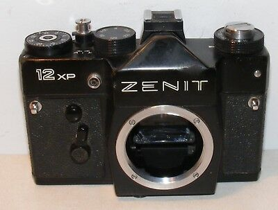 VINTAGE ZENIT 12XP  35mm SLR FILM CAMERA BODY ONLY RUSSIA