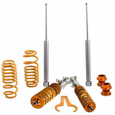 Height Adjustable Suspension Coilover for VW GOLF MK4 CABRIO Lowering Spring Kit