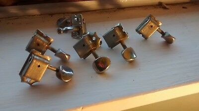 1960s Fender Kluson double line tuners for Stratocaster, parts 4 project luthier