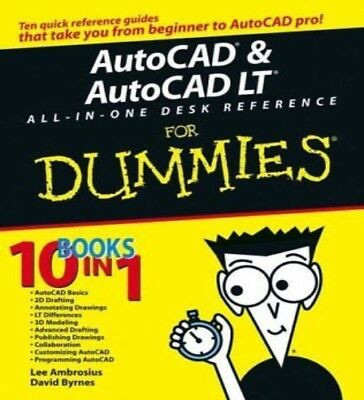 AutoCAD & AutoCAD LT All-In-One Desk Reference for Dummies PDF Read on PC/Phone