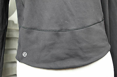 Lululemon Athletica Women's black fitness yoga Top Long Sleeve New without tags!