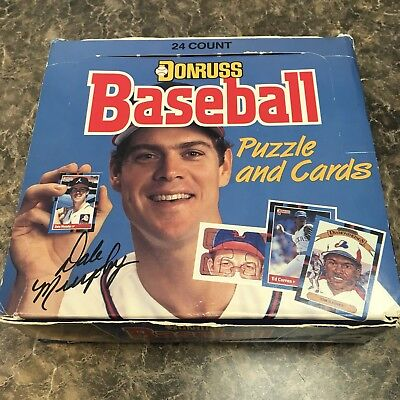 1988 Donruss Unopened Cello Packs Baseball Cards