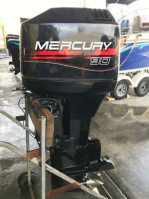 90hp Mercury Outboard Motor
