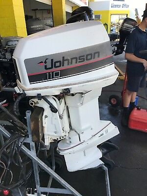 110hp Johnson Outboard Motor