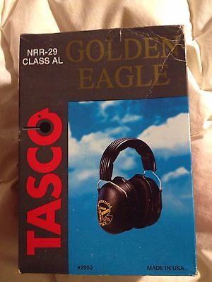 Tasco Golden Eagle Over-The-Head Noise Reduction Ear Muffs