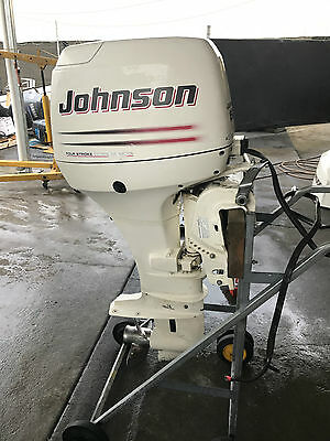 50hp Johnson Outboard Motor 4 Stroke