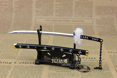 ONE PIECE Samurai Sword Japanese katana Trafalgar·Law weapon 17cm