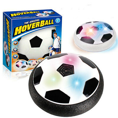 Kinder Led Hover Fussball Air Power Soccer Indoor Schwimm Fun