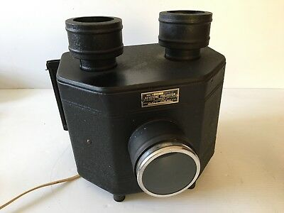 Antique Keystone 434 Pictograph Magic Lantern Glass Slide Projector EXCELLENT