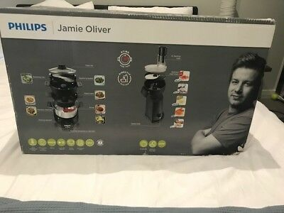 PHILIPS JAMIE OLIVER MULTI HOME COOKER ELECTRIC POT STEAMER PAN With Manual