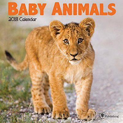 NEW 2018 Baby Animals Mini Calendar by TF Publishing