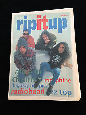 Rip It Up Magazine New Zealand Alice In Chains Morphine Radiohead Zz Top 1994