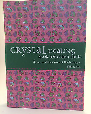 Oracle Cards - Crystal Healing Book And Card Pack Brand New