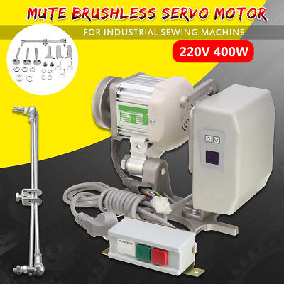 400W Energy Saving Mute Brushless Motor For Industrial Sewing Machine 220V