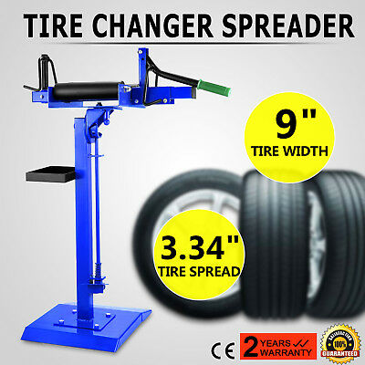 Tyre Spreader On Pedestal Floor Mount Tyre Changer Repair Tool Car Truck Vehicle