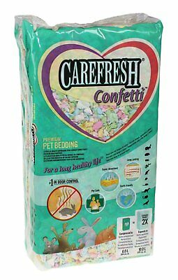 Carefresh Pet Bedding Colourful Confetti Animal Soft Warm Cushion Pad 10 litres