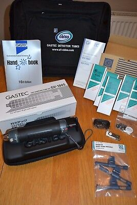 Gastec GV-100S Gas Sampling Pump Set for All Types of Gas and Vapour