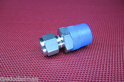 Ham-Let® 3/8 Tube OD x 1/2 NPT Male Pipe STRAIGHT CONNECTOR 316 Stainless Steel