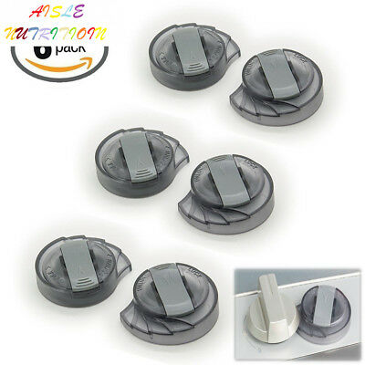 Stove Knob Covers - Kitchen Locks by TOPtoper Baby Safety Lock 6 count