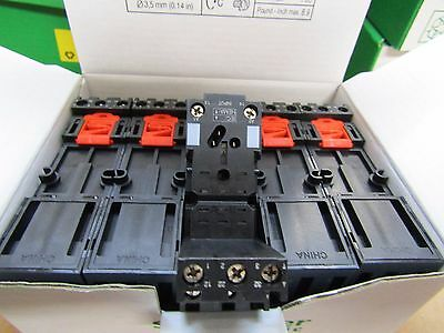 Box of 10 x SCHNEIDER RXZE2S111M Relay Socket for RXM Series - S2 -  8497601