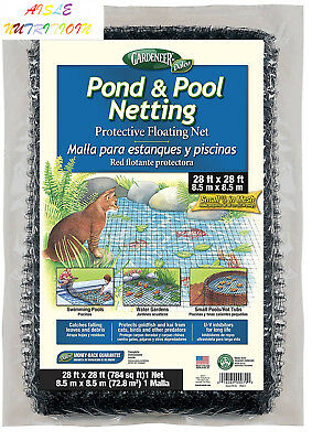 Gardeneer By Dalen Pond & Pool Netting Protective Floating Net 28' x