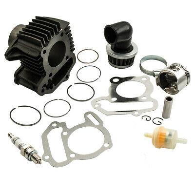 NEW For YAMAHA BADGER 80 YFM80 CYLINDER PISTON GASKET TOP END KIT SET 1985-2001