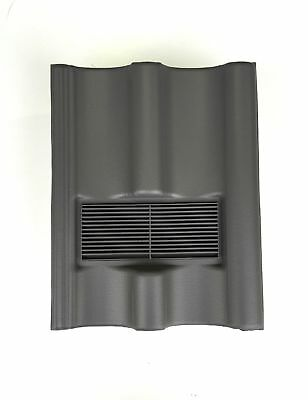 Roof Tile Vent To Fit Marley Mendip, Redland Grovebury, Double Pantile | Grey