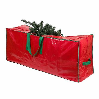 Christmas Artificial Tree Storage Bag Heavy Duty Tarp, Zippered with Handles.