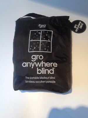 gro anywhere portable blackout blind