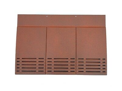Plain Tile Roof Vent | Burnt Orange | 12 Colours Available | Smooth / Granular