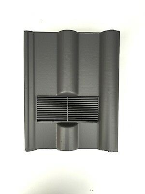 Roof Tile Vent To Fit Marley, Redland 50 Double Roman | Grey Smooth | 8 Colours