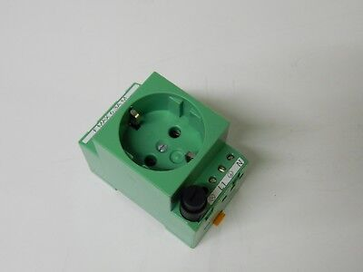 Phoenix Contact EMG 45-SD-D DIN rail Mounted Fuse Electrical Socket 250vac 6.3A