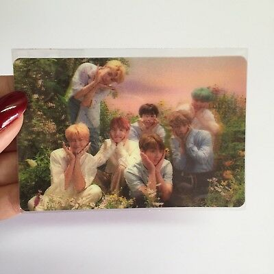 BTS Love Yourself Special Limited Group Photocard