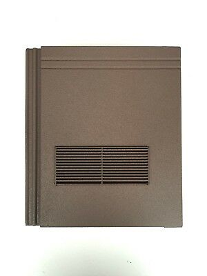 Roof Tile Vent To Fit Redland Stonewold II Mk2 | Brown Granular | 10 Colours