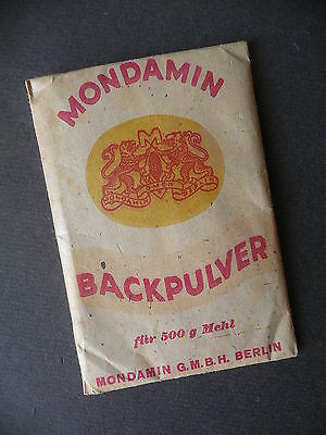 Original-Packung Mondamin Backpulver
