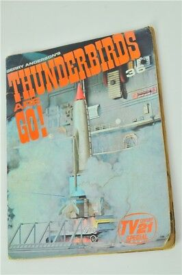 Vintage Gerry Andrson's Thunderbirds Are Go! Comic TV21 Special 1966 Magazine