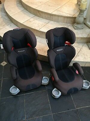 Graco booster car seats x2