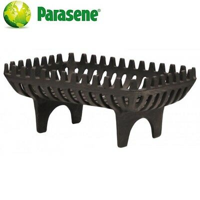 Log Basket Fire Grate Cast Iron Coal Wood Holder Heavy Duty New By PARASENE