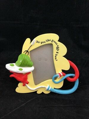 Vandor Licesnsed Dr. Seuss Green Eggs And Ham Resin Picture Or Photo Frame